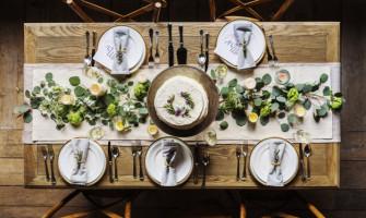 Как да подредим приборите за хранене на масата