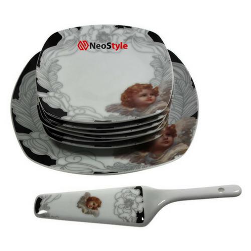 Сервиз за торта Ангел на супер цена от Neostyle.bg