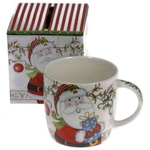 Коледна чаша Дядо Коледа MUG от порцелан