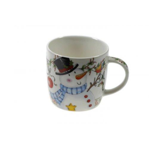 Коледна чаша MUG снежен човек на супер цена от Neostyle.bg