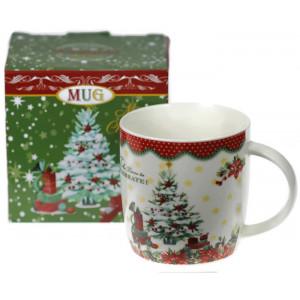 Порцеланова чаша Коледна Елха