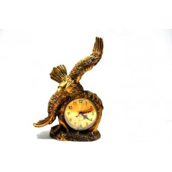 Декоративен часовник орел