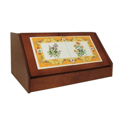 Дървена кутия за хляб Spigarelli