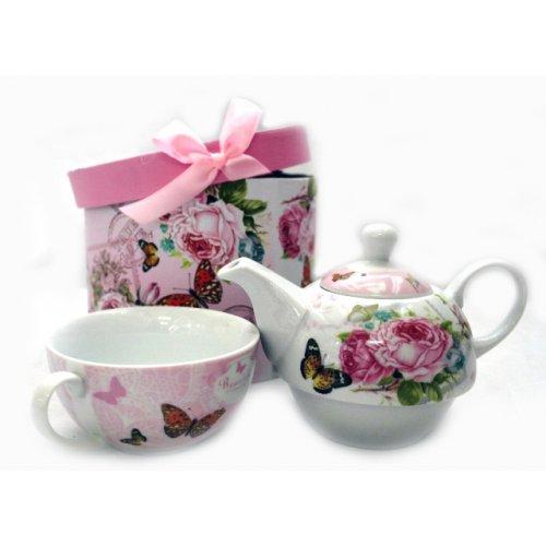 Комплект чаша с с чайник на супер цена от Neostyle.bg