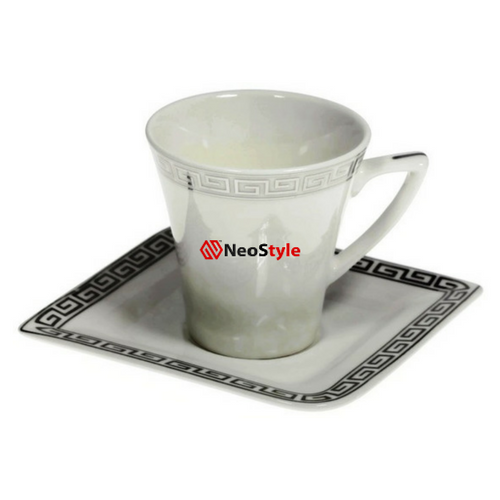 Сервиз за кафе Версаче-сребро