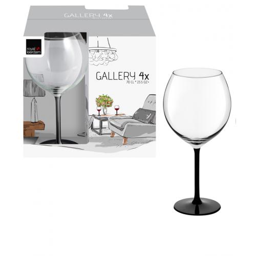 Чаши за вино на черно столче на супер цена от Neostyle.bg
