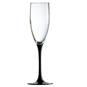 Чаши за вино на черно столче 220 сс