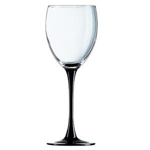 Чаши за вино на черно столче 250 сс