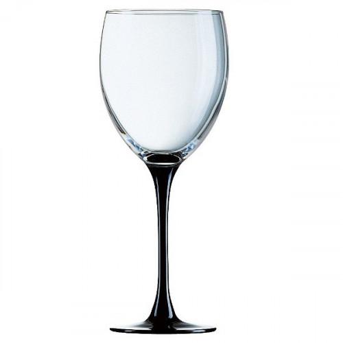 Чаши за вино на черно столче 330 сс