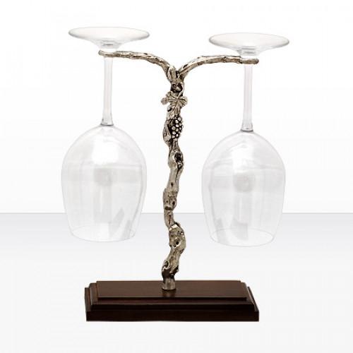 Чаши за вино на сребърна поставка на супер цена от Neostyle.bg