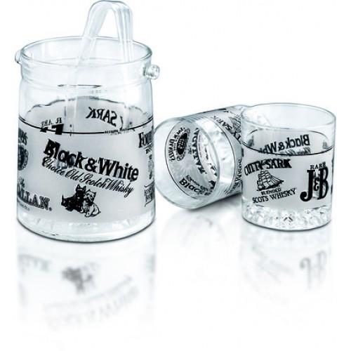 Комплект за уиски със ледарник