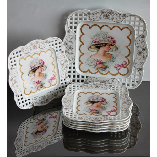 Луксозен Сет за торта Барок
