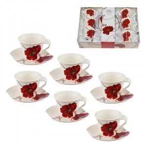 Комплект за чай/кафе макове Lancaster