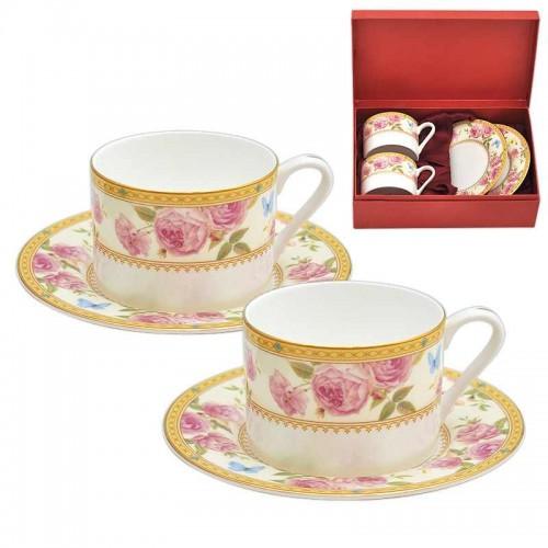 Роза дантела к-т 2 чаши класик