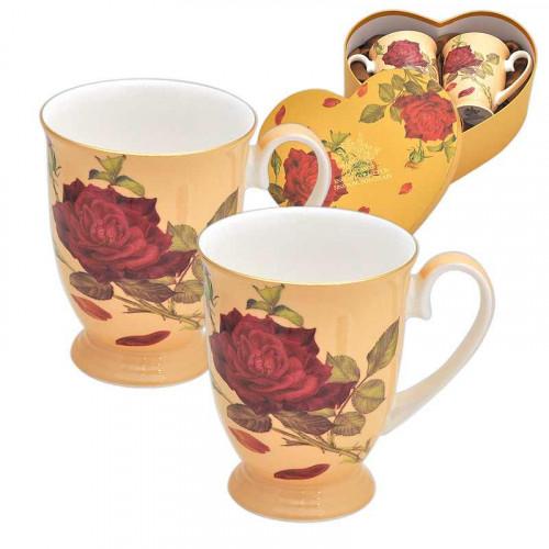 Роза крем к-т 2 чаши ROYAL MUG на супер цена от Neostyle.bg