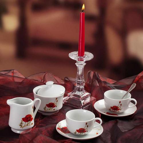 Сервиз за чай/кафе на макове Poppy  Lancaster
