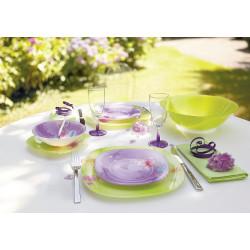 Сервиз за хранене Angel Purple LUMINARC 19 ел.