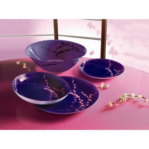 Сервиз за хранене Kashima Purple Luminarc 19.ч на супер цена от Neostyle.bg