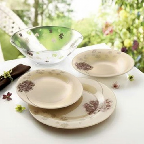 Сервиз за хранене Stella Chocolat LUMINARC 19 ел.