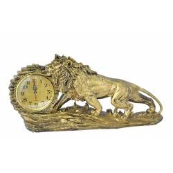 Декоративен часовник Лъв