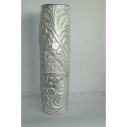 Керамична ваза сива 60 см