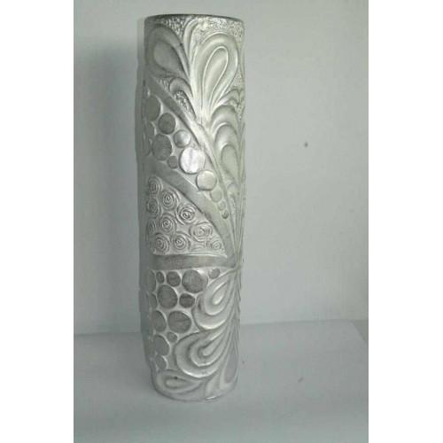 Керамична ваза сива 60 см на супер цена от Neostyle.bg