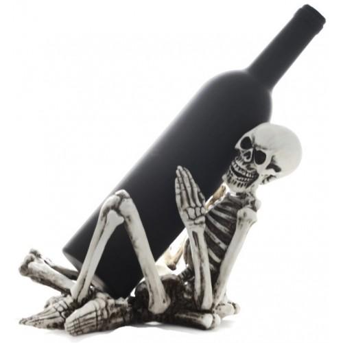Стойка за вино Скелет