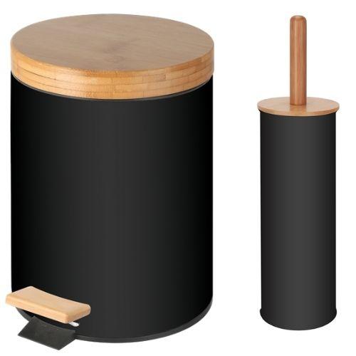 Комплект четка wc + кош педал 5 л на супер цена от Neostyle.bg