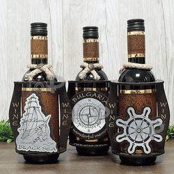 Декорирани бутилки за вино