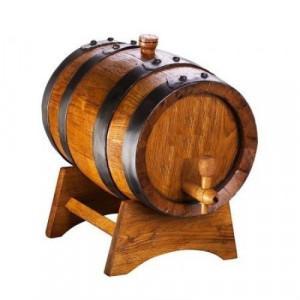 Дървена бъчва 5 литра