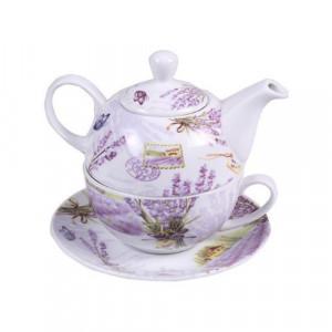 Чаша+ чайник Лавандула