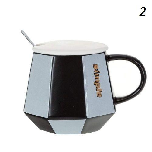 Чаша за чай с капаче и лъжичка на супер цена от Neostyle.bg