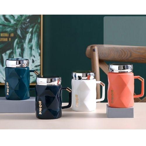Чаша за чай с капаче на супер цена от Neostyle.bg
