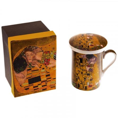 Порцеланова чаша за чай Целувката на супер цена от Neostyle.bg