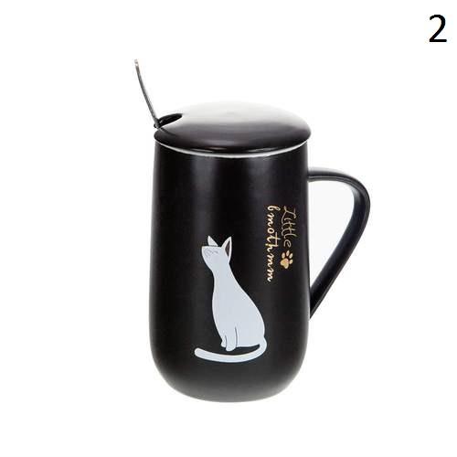 Порцеланова чаша коте на супер цена от Neostyle.bg