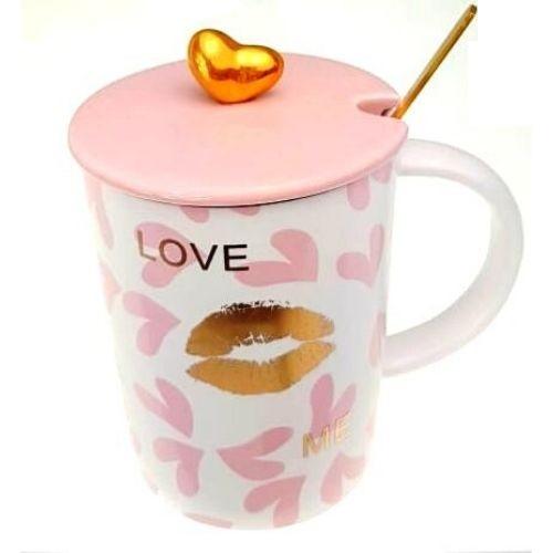 Чаша за чай Love Me на супер цена от Neostyle.bg