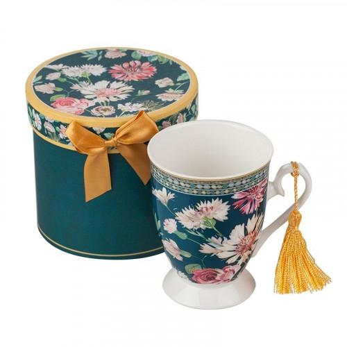 Чаша за чай +кутия Полски цветя на супер цена от Neostyle.bg