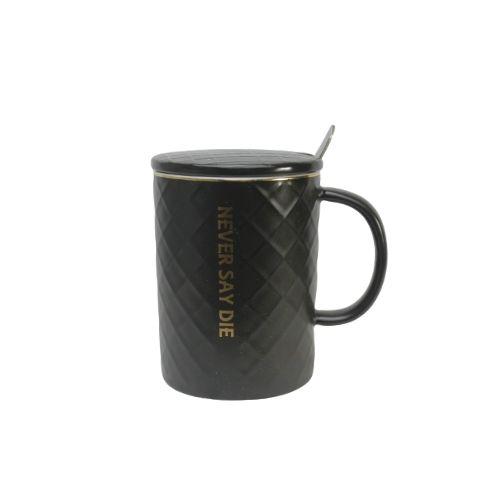 Чаша с капаче и лъжичка на супер цена от Neostyle.bg