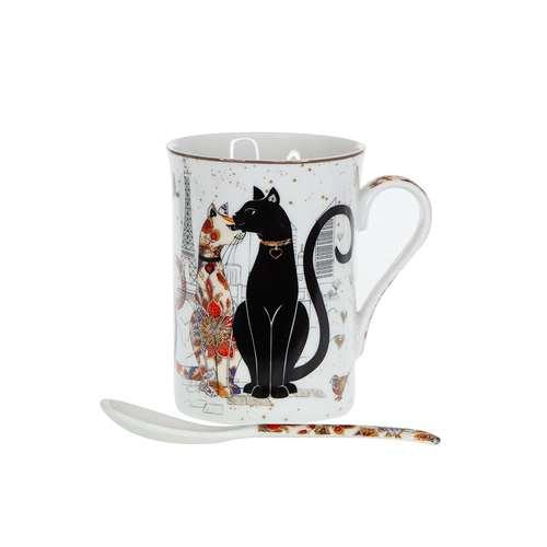 Чаша за чай Котки на супер цена от Neostyle.bg