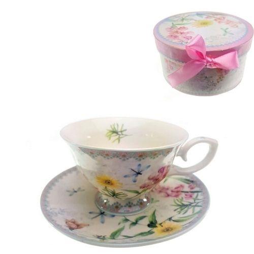 Чаша за чай с подложка на супер цена от Neostyle.bg