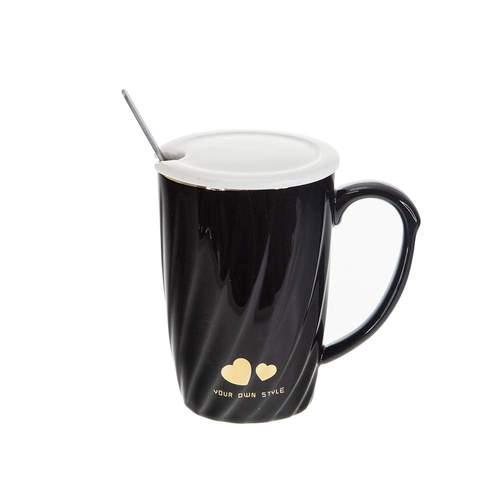 Чаша за чай Златно сърце на супер цена от Neostyle.bg