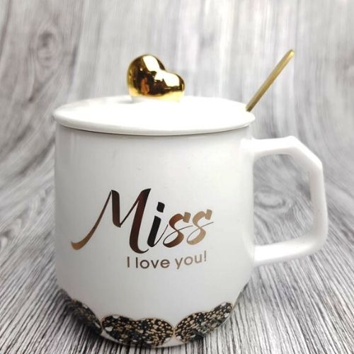 Порцеланова чаша с капаче на супер цена от Neostyle.bg