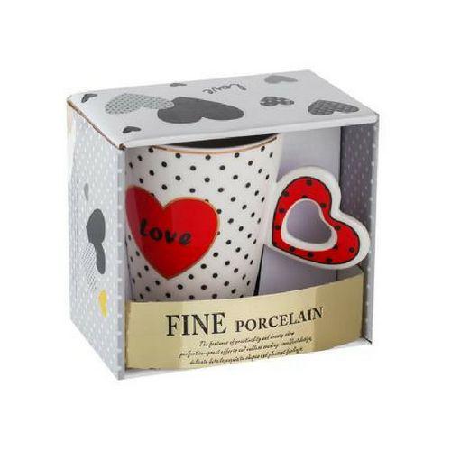Чаша с червено сърце Lancaster на супер цена от Neostyle.bg