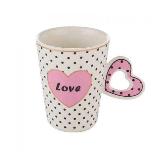 Чаша с розово сърце Lancaster