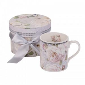 Чаша за кафе Бяла роза