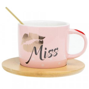 Чаша за кафе Miss you