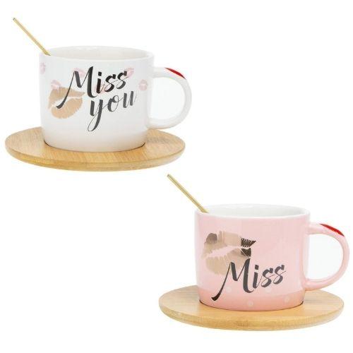 Чаша за кафе Miss you на супер цена от Neostyle.bg