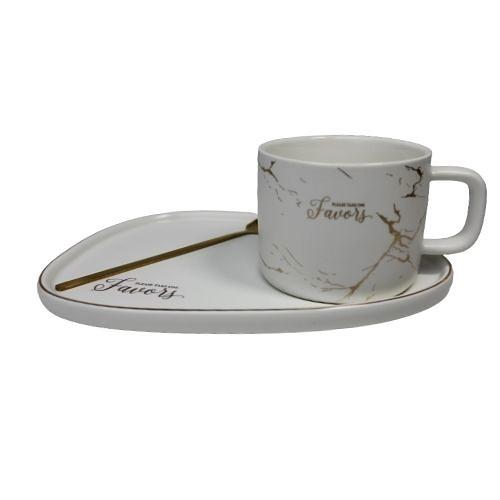 Порцеланова чаша + лъжичка на супер цена от Neostyle.bg