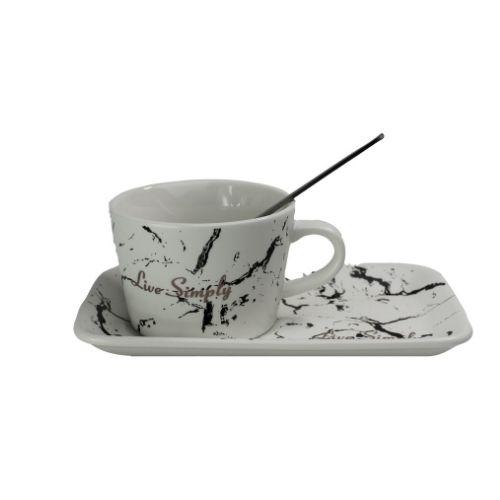 Чаша с лъжичка на супер цена от Neostyle.bg