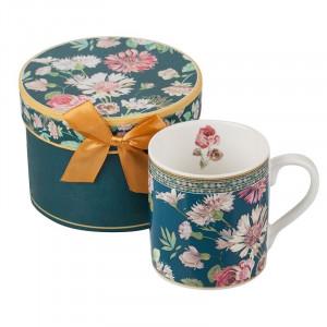 Кафе + кутия MUG - Полски цветя